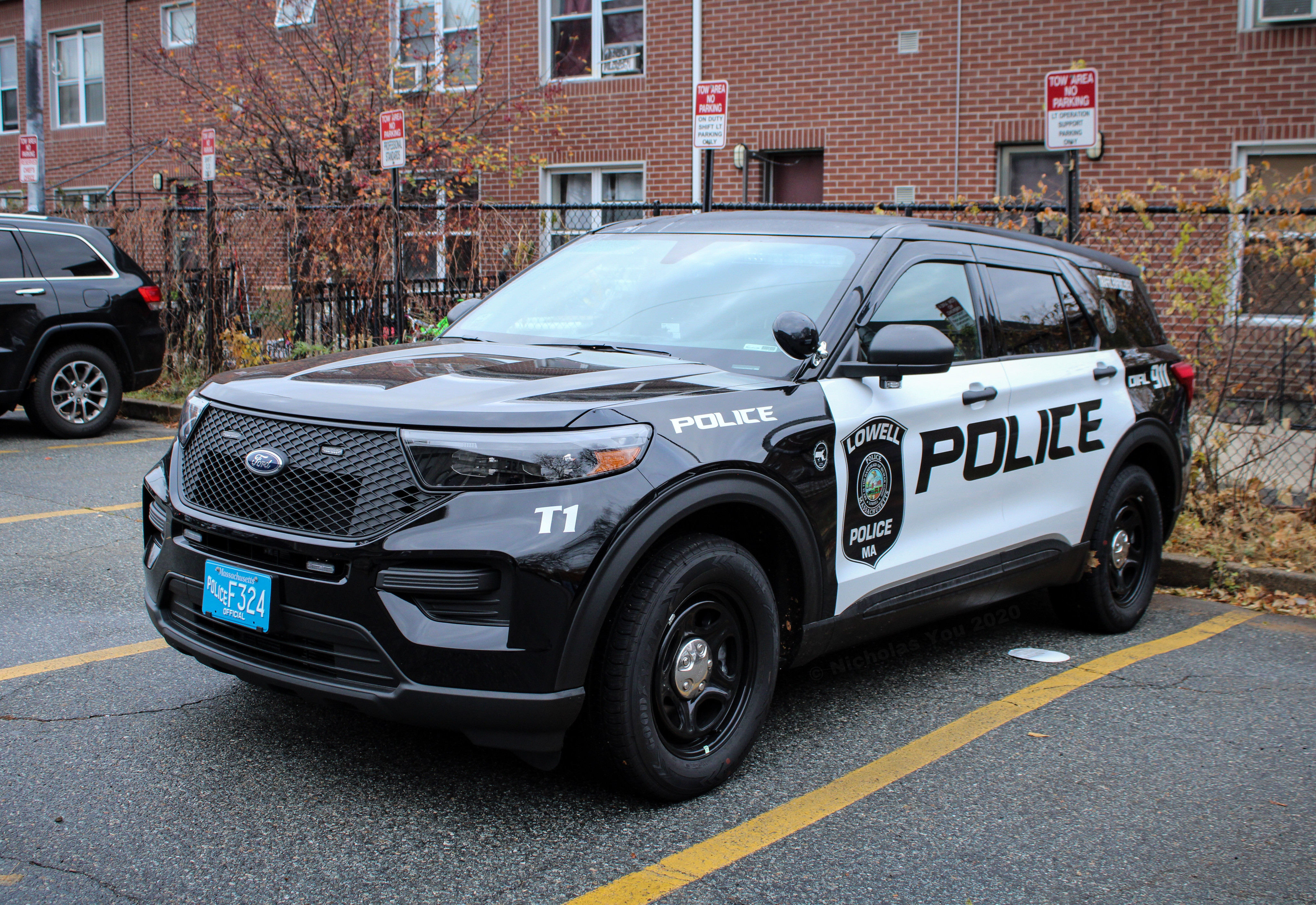 A photo  of Lowell Police             Traffic 1, a 2020 Ford Police Interceptor Utility             taken by Nicholas You