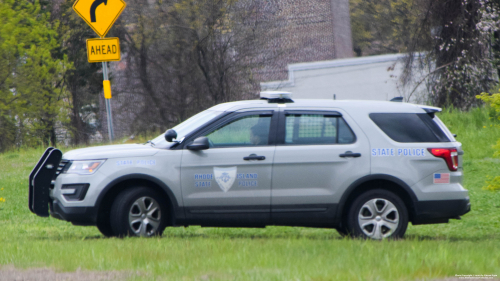 Additional photo  of Rhode Island State Police                     Cruiser 253, a 2017 Ford Police Interceptor Utility                     taken by Kieran Egan