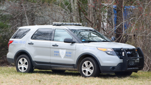 Additional photo  of Rhode Island State Police                     Cruiser 152, a 2013 Ford Police Interceptor Utility                     taken by Kieran Egan