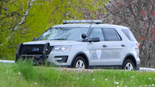 Additional photo  of Rhode Island State Police                     Cruiser 225, a 2018 Ford Police Interceptor Utility                     taken by Kieran Egan