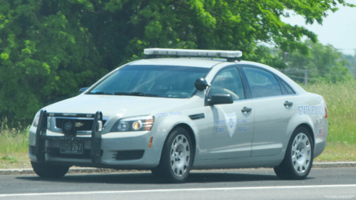 Additional photo  of Rhode Island State Police                     Cruiser 267, a 2013 Chevrolet Caprice                     taken by Kieran Egan