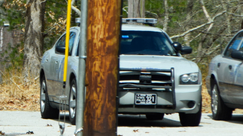 Additional photo  of Rhode Island State Police                     Cruiser 321, a 2006-2010 Dodge Charger                     taken by Kieran Egan