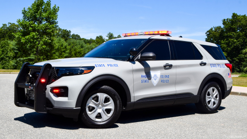 Additional photo  of Rhode Island State Police                     Cruiser 66, a 2020 Ford Police Interceptor Utility                     taken by Kieran Egan