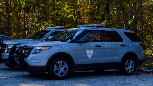 Additional photo  of Rhode Island State Police                     Cruiser 114, a 2013-2015 Ford Police Interceptor Utility                     taken by Kieran Egan