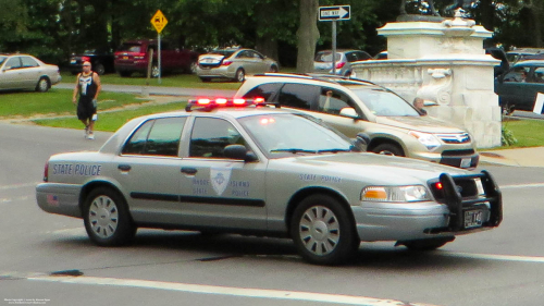 Additional photo  of Rhode Island State Police                     Cruiser 140, a 2006-2008 Ford Crown Victoria Police Interceptor                     taken by Kieran Egan