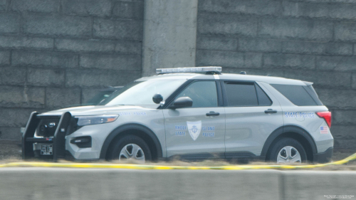 Additional photo  of Rhode Island State Police                     Cruiser 138, a 2020 Ford Police Interceptor Utility                     taken by Kieran Egan