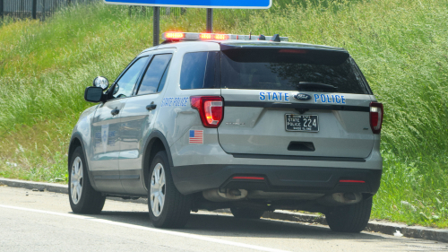 Additional photo  of Rhode Island State Police                     Cruiser 224, a 2016-2019 Ford Police Interceptor Utility                     taken by Kieran Egan