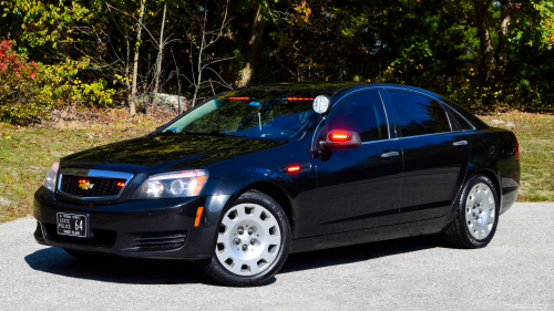 Additional photo  of Rhode Island State Police                     Cruiser 64, a 2013 Chevrolet Caprice                     taken by Kieran Egan