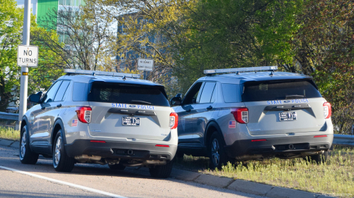 Additional photo  of Rhode Island State Police                     Cruiser 133, a 2020 Ford Police Interceptor Utility                     taken by Kieran Egan