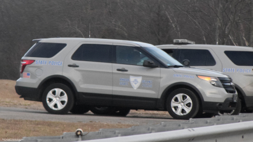 Additional photo  of Rhode Island State Police                     Cruiser 129, a 2014 Ford Police Interceptor Utility                     taken by Kieran Egan