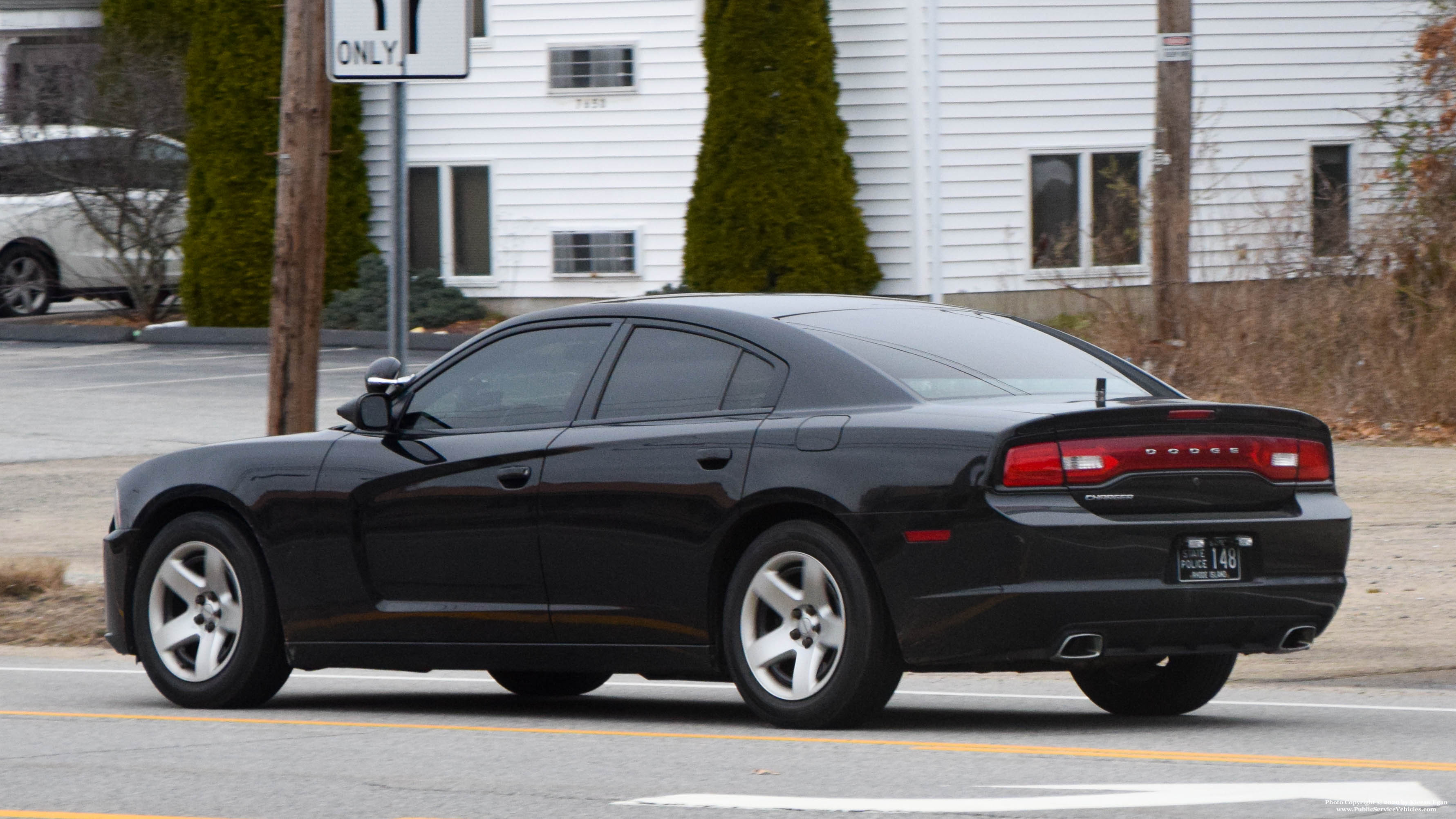 A photo  of Rhode Island State Police             Cruiser 148, a 2013 Dodge Charger             taken by Kieran Egan