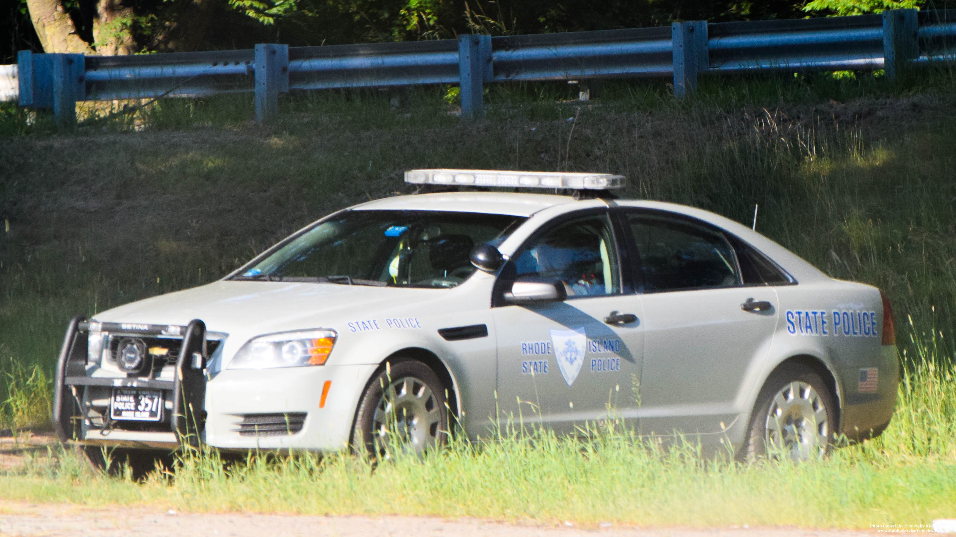 A photo  of Rhode Island State Police             Cruiser 357, a 2013 Chevrolet Caprice             taken by Kieran Egan