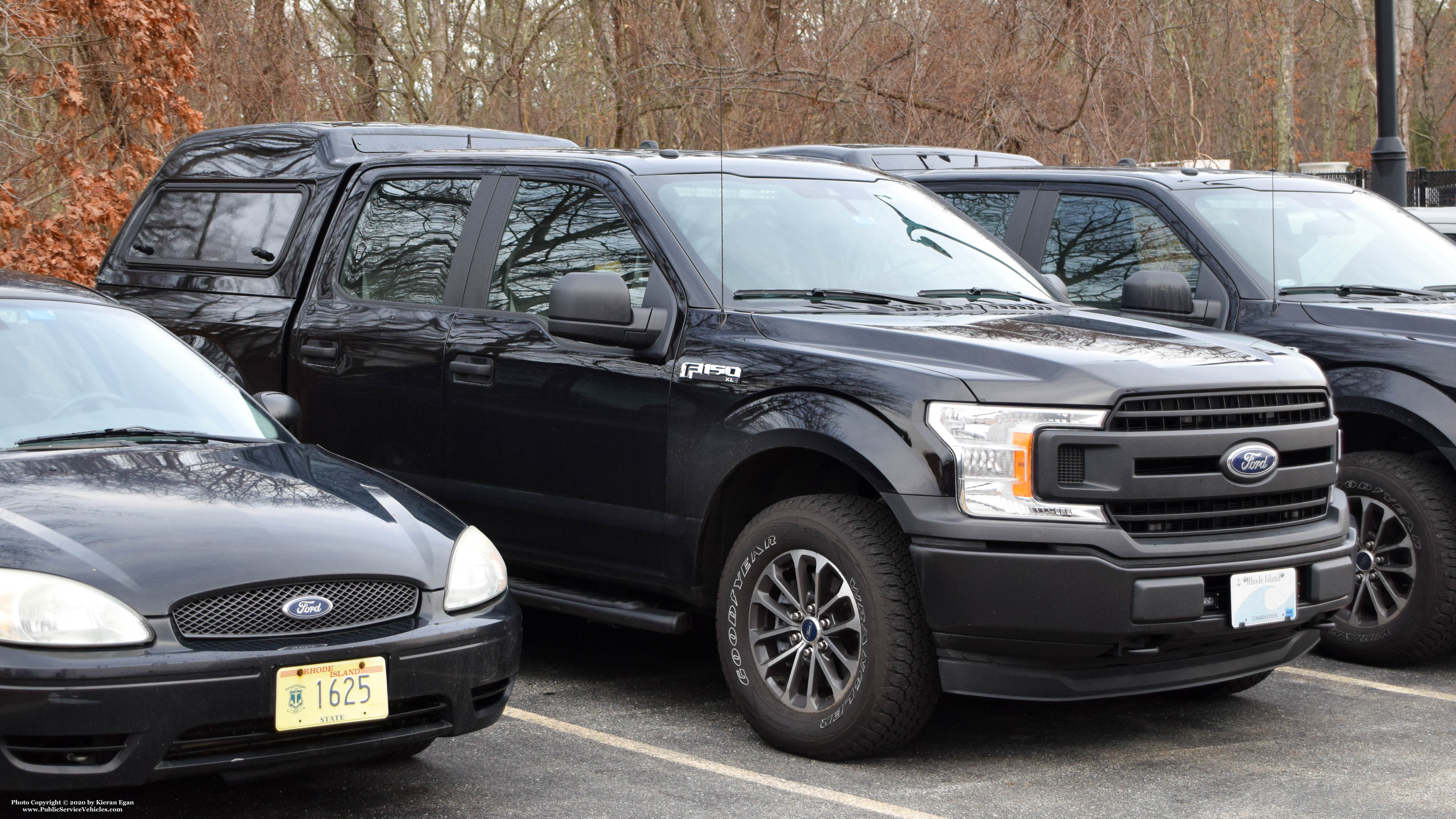A photo  of Rhode Island State Police             Crime Scene Unit, a 2017-2020 Ford F-150 Crew Cab             taken by Kieran Egan