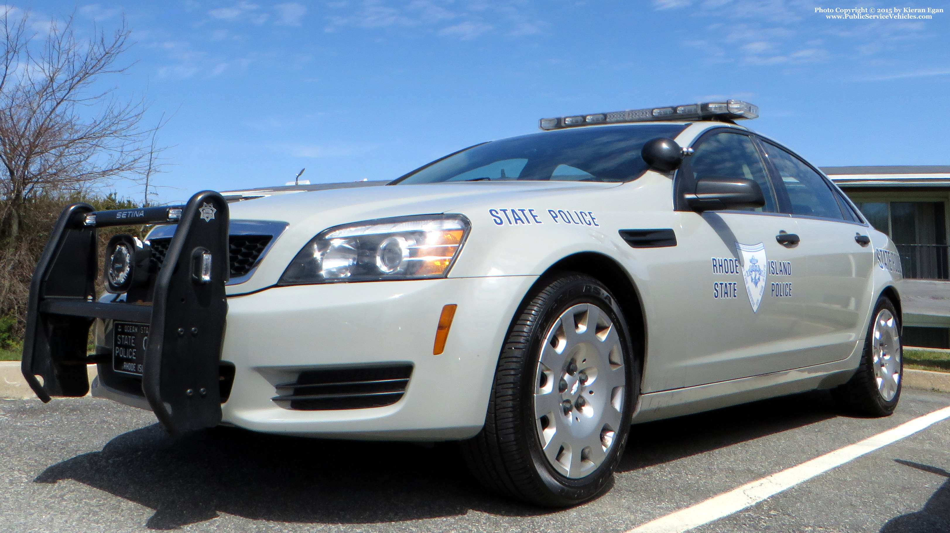 A photo  of Rhode Island State Police             Cruiser 97, a 2013 Chevrolet Caprice             taken by Kieran Egan