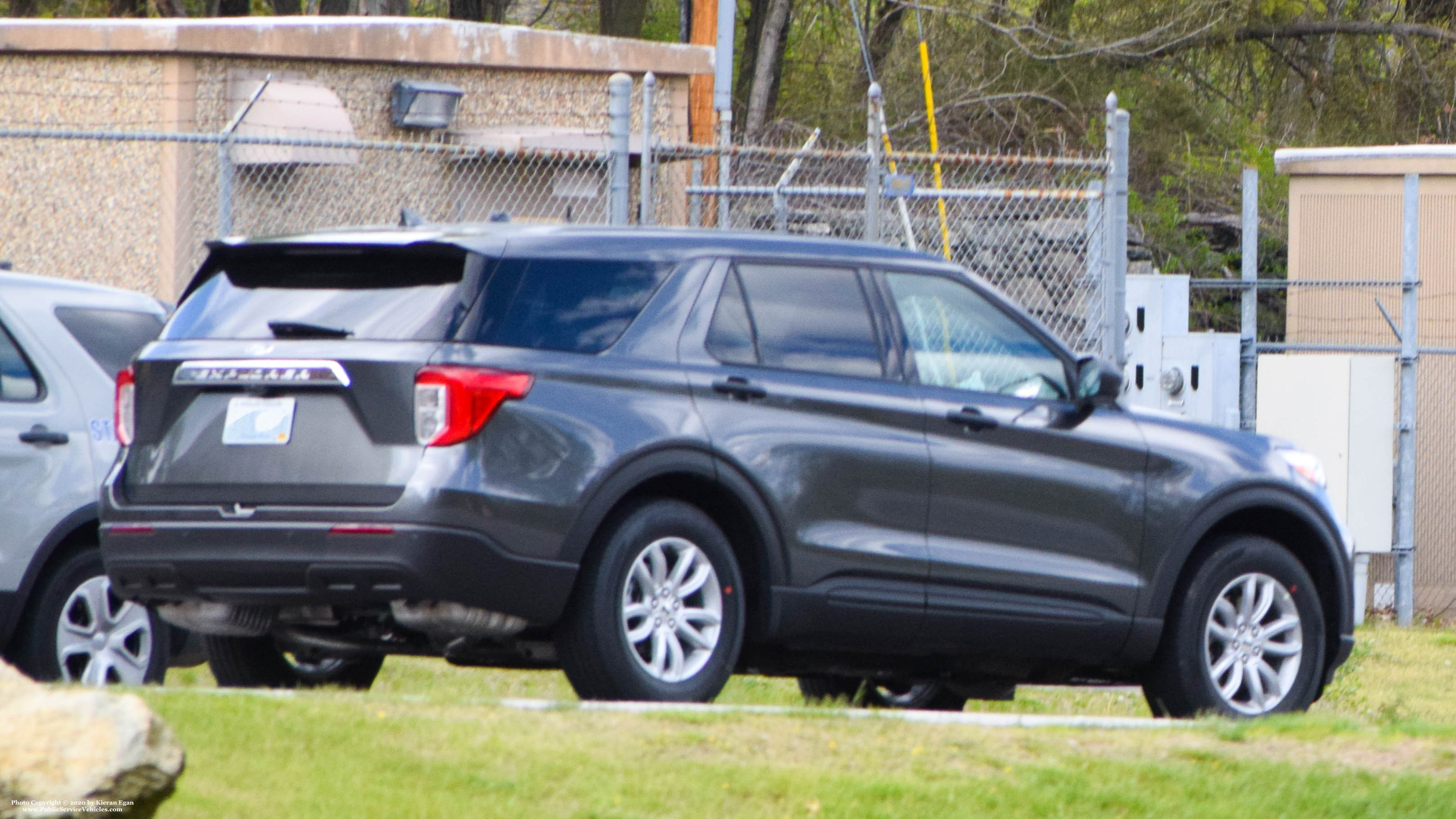 A photo  of Rhode Island State Police             Unmarked Unit, a 2020 Ford Explorer             taken by Kieran Egan