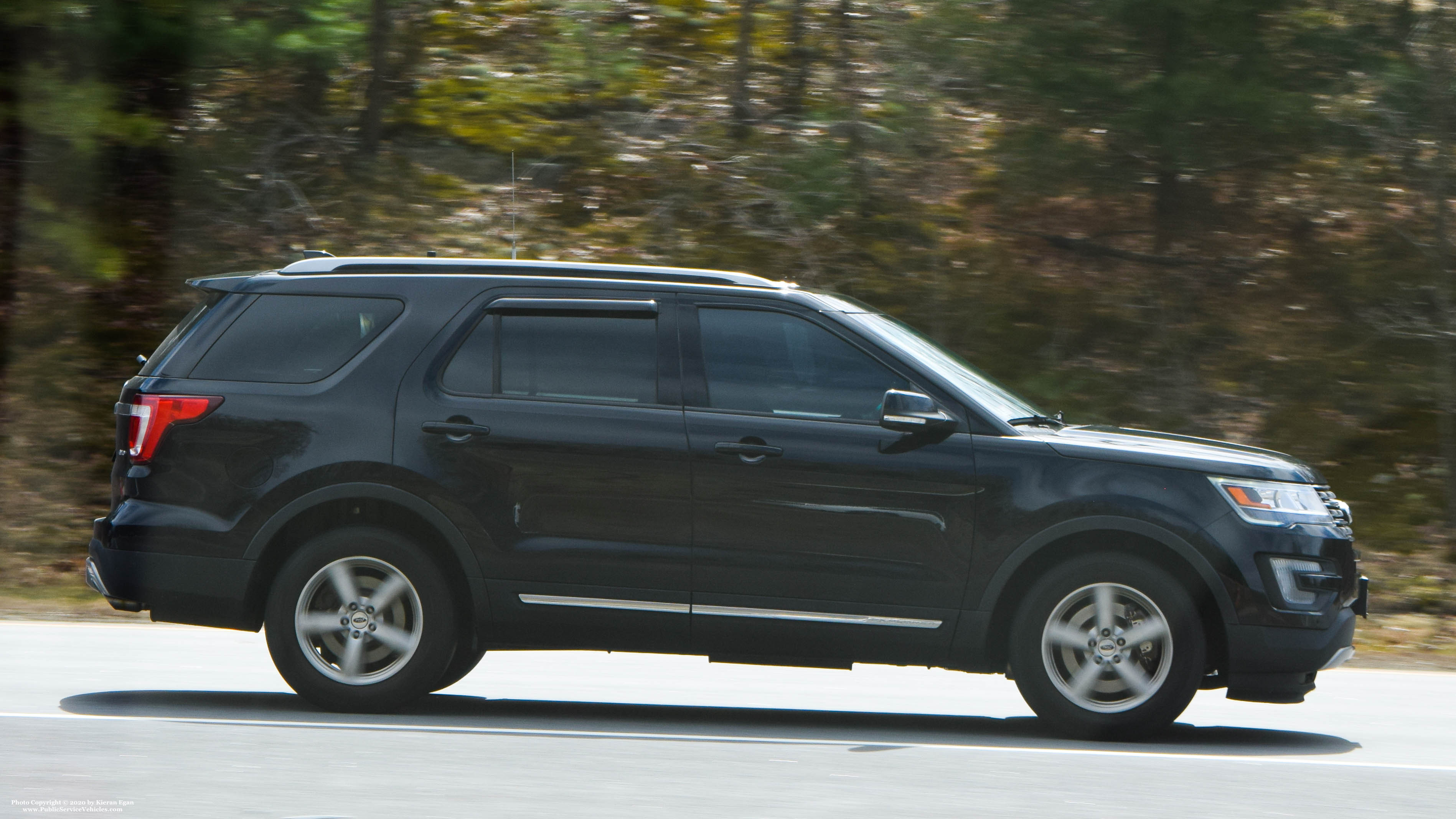 A photo  of Rhode Island State Police             Unmarked Unit, a 2016-2019 Ford Explorer             taken by Kieran Egan