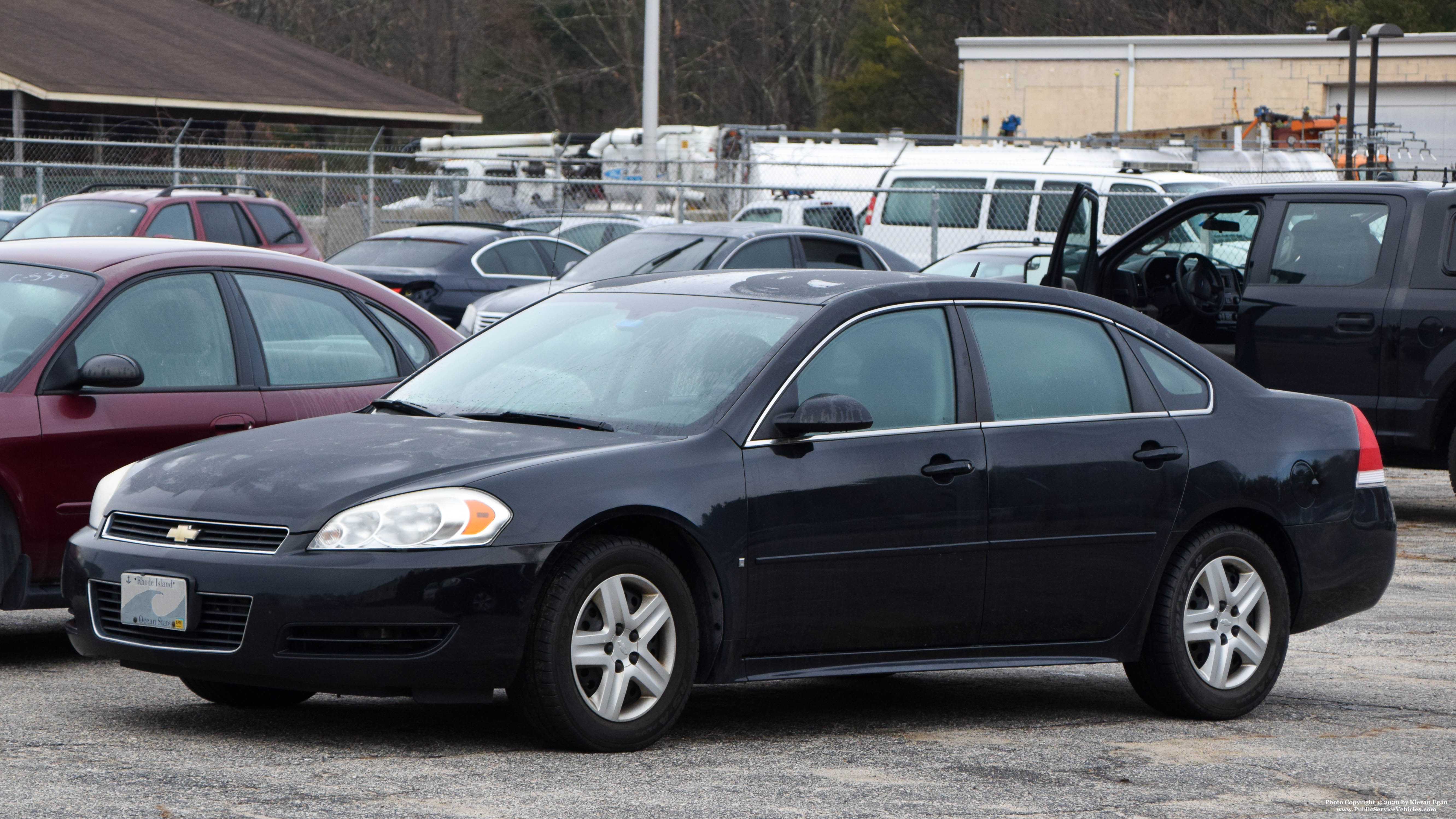 A photo  of Rhode Island State Police             Unmarked Unit, a 2005-2013 Chevrolet Impala             taken by Kieran Egan